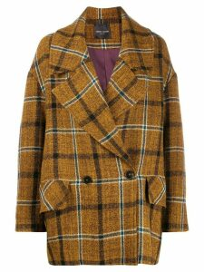 Roberto Collina double breasted coat - Green