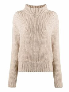 Aragona rollneck cashmere sweater - Neutrals