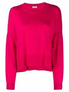 Liu Jo crystal button jumper - Pink
