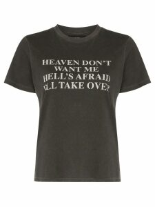 Amiri Heaven text print T-shirt - Black