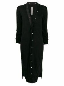 Rick Owens cashmere long cardigan - Black