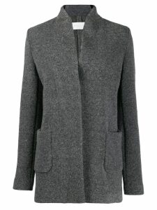 Fabiana Filippi concealed front fastening coat - Grey