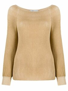 Blumarine knitted jumper - Gold