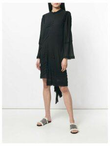 Chloé ruffled asymmetric dress - Black
