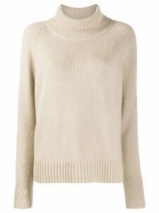 Nili Lotan roll neck sweater - Neutrals