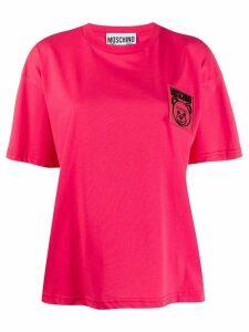 Moschino Teddy Bear patch T-shirt - Pink