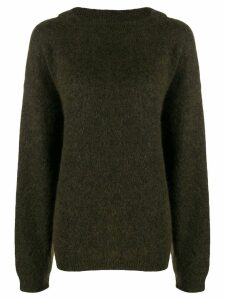 Acne Studios Dramatic Mohair knitted sweater - Green