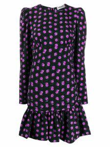 Essentiel Antwerp short floral print dress - Black
