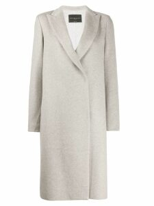 Fabiana Filippi single breasted coat - NEUTRALS