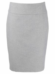 Peserico pencil midi skirt - Grey