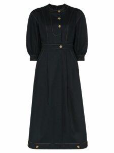 Rejina Pyo button-detail midi dress - Black