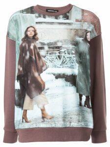 UNDERCOVER Winter Style print sweatshirt - Green