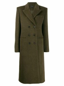 Isabel Marant double-breasted maxi coat - Green
