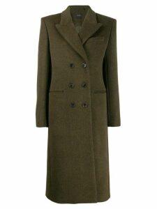 Isabel Marant double-breasted maxi coat - Green
