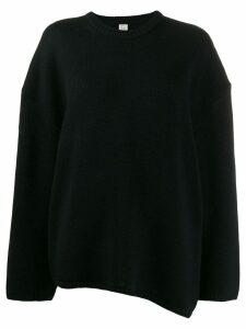 Toteme oversized jumper - Black