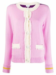 Escada Sport knitted cardigan - PINK