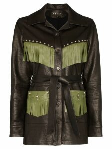 Skiim Billy fringed trim jacket - Black