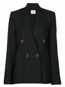 Khaite boxy fit blazer - Black