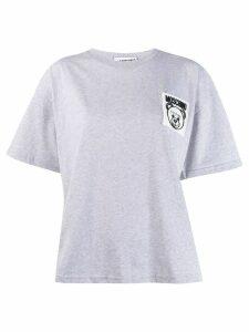 Moschino Teddy Bear patch T-shirt - Grey
