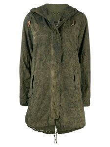 Mr & Mrs Italy lightweight parka coat - Green