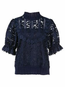 Sea Abby lace blouse - Blue
