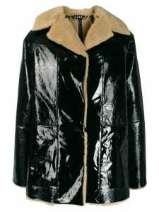 Kassl reversible oversized coat - Black