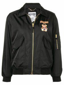 Moschino Circus Bear bomber jacket - Black