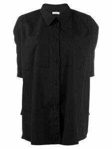 Nina Ricci oversized short-sleeved shirt - Black