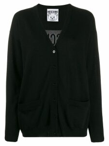 Moschino Teddy Bear cardigan - Black