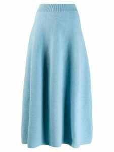 Christian Wijnants Kasa skirt - Blue