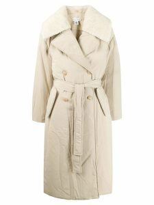 Low Classic padded trench coat - Neutrals