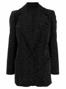 Blazé Milano crystal-embellished jacket - Black