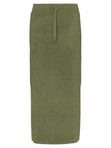 Rejina Pyo drawstring midi skirt - Green