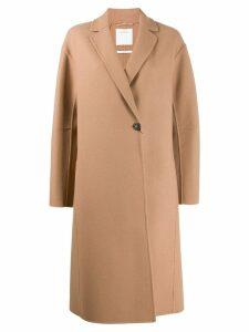 Sportmax single breasted coat - Blue