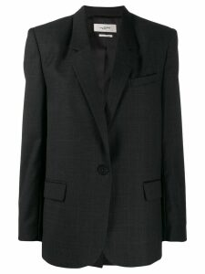 Isabel Marant Étoile single breasted blazer - Grey