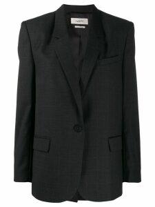 Isabel Marant Étoile single breasted blazer - Grey