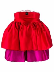 Christopher Kane tiered cupcake corset dress
