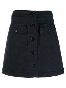 YMC button up skirt - Black