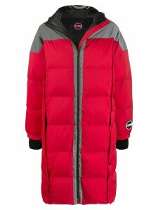 Colmar A.G.E. By Shayne Oliver padded oversized coat - Red