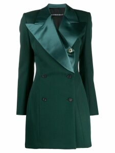 Y/Project longline double breasted blazer - Green
