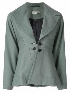 Palmer / Harding button-embellished blazer - Green