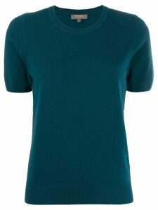 N.Peal cashmere short-sleeved top - Green