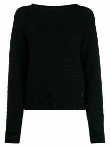 Patrizia Pepe knitted jumper - Black