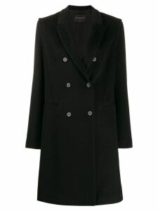 Fabiana Filippi double breasted coat - Black