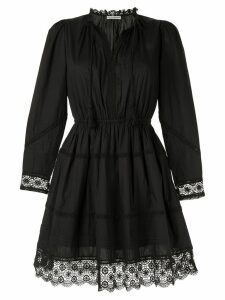 Ulla Johnson Helene crochet-trimmed dress - Black