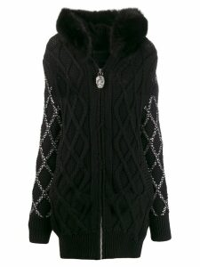 Philipp Plein skull hoodie - Black