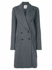 Tibi double breasted coat - Grey