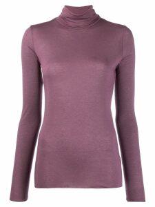 Roberto Collina roll neck sweater - Purple