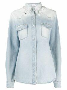 Magda Butrym degrade effect denim shirt - Blue