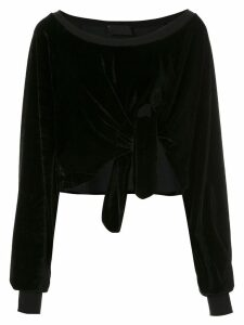 Andrea Bogosian textured Pierre blouse - Black